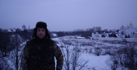 In Suzdal in the winter, frost